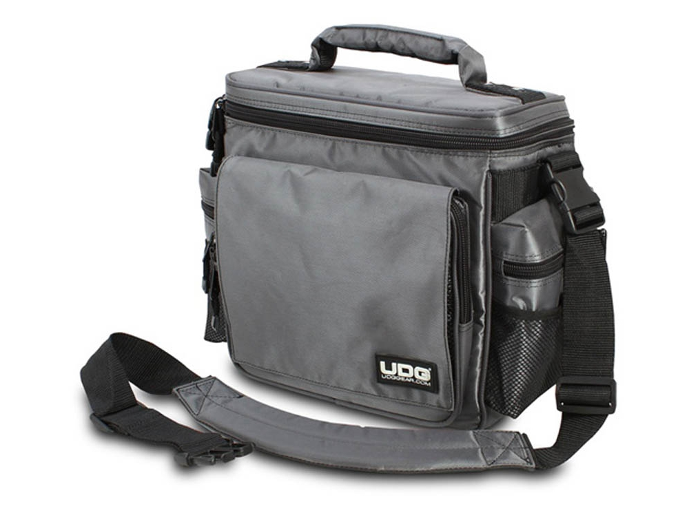 Сумки для пластинок UDG Ultimate SlingBag Steel Grey/Orange