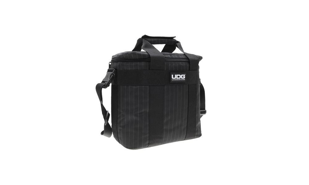 Сумки для пластинок UDG Ultimate StarterBag Black/Grey stripe