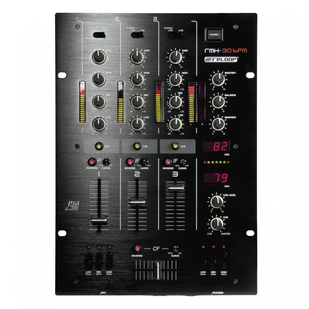 DJ-микшеры Reloop RMX-30 Blackfire Edition