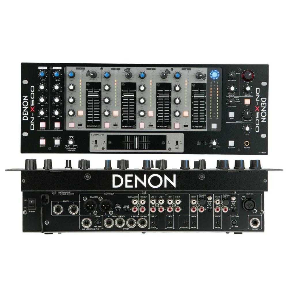 DJ-микшеры Denon DJ DN-X500