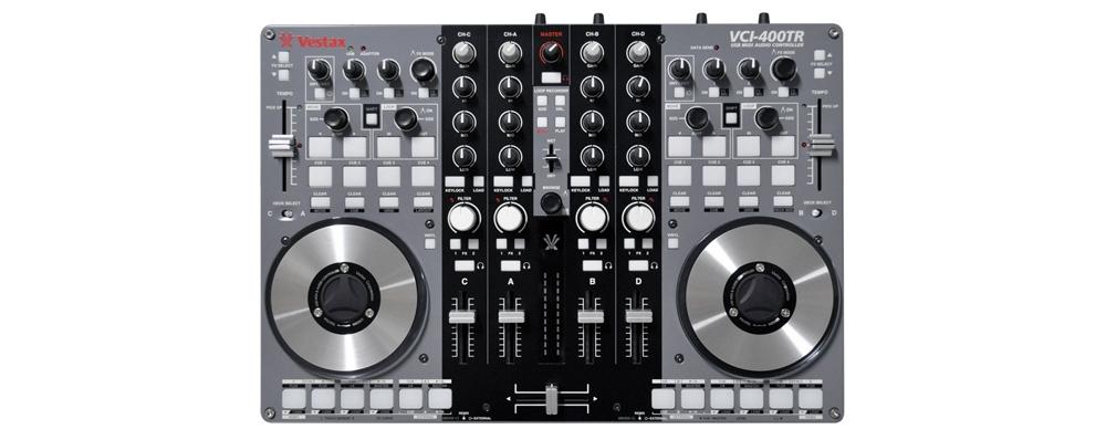 DJ-контроллеры Vestax VCI-400TR