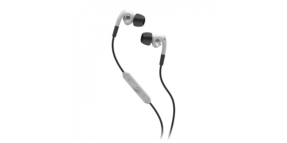 Наушники для плеера Skullcandy Fix In-Ear White Chrome