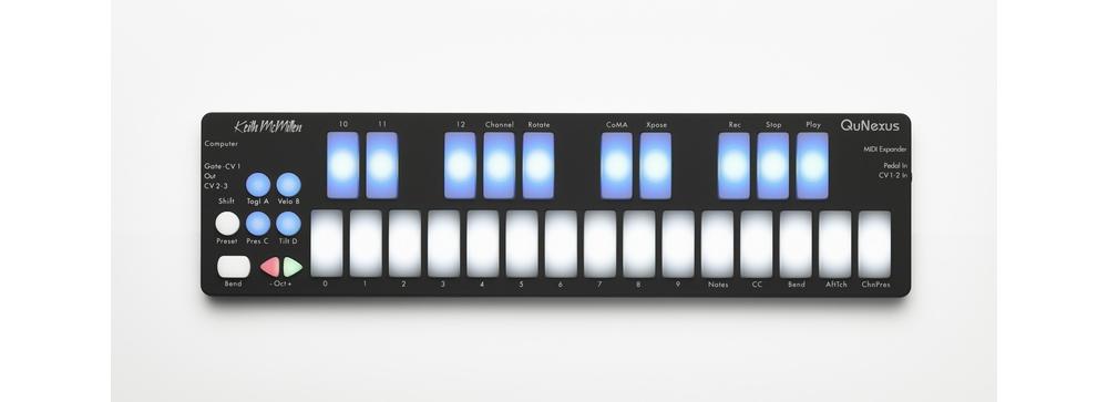 Midi-клавиатуры Keith McMillen QuNexus
