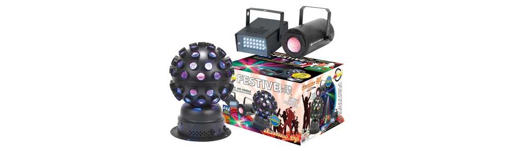 Светодиодные приборы заливающего света American Audio Festive LED Pak