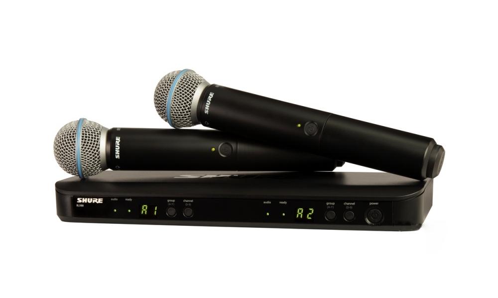 Все Микрофоны Shure BLX288/B58