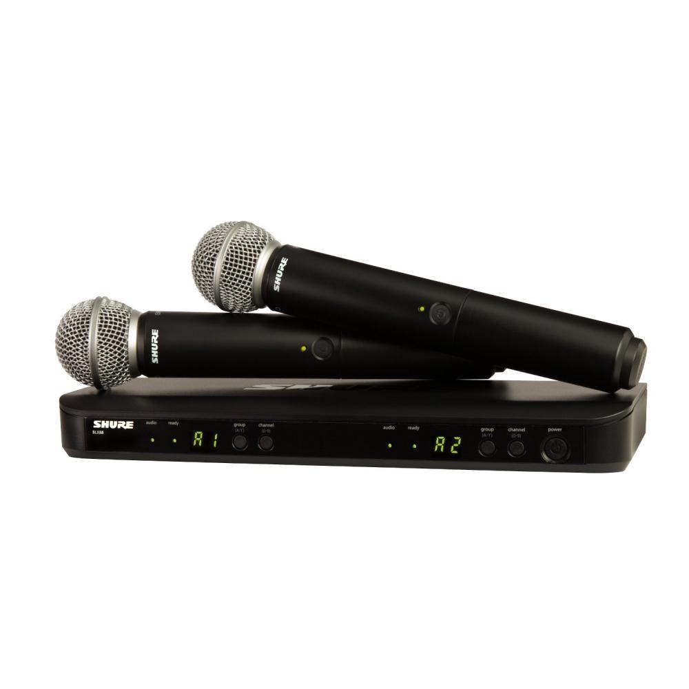 Все Микрофоны Shure BLX288/SM58
