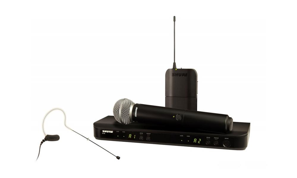 Все Микрофоны Shure BLX1288/MX53