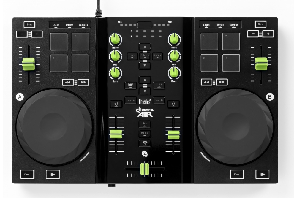 DJ-контроллеры Hercules DJControl AIR for iPad