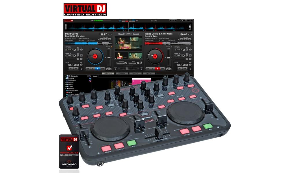 DJ-контроллеры AKIYAMA Sirion SC
