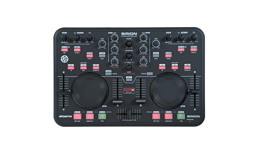 DJ-контроллеры AKIYAMA Sirion