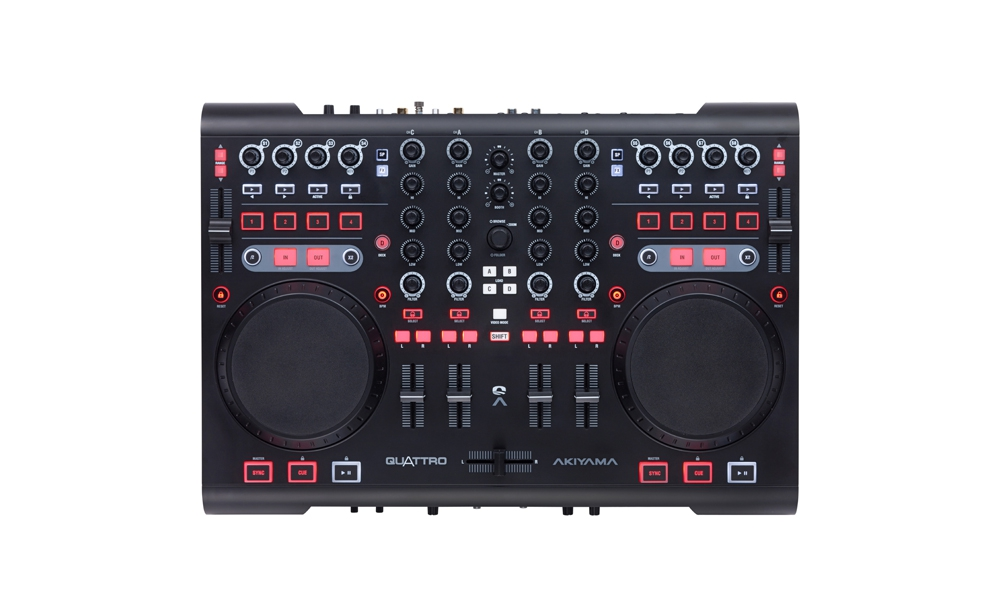DJ-контроллеры AKIYAMA Quattro