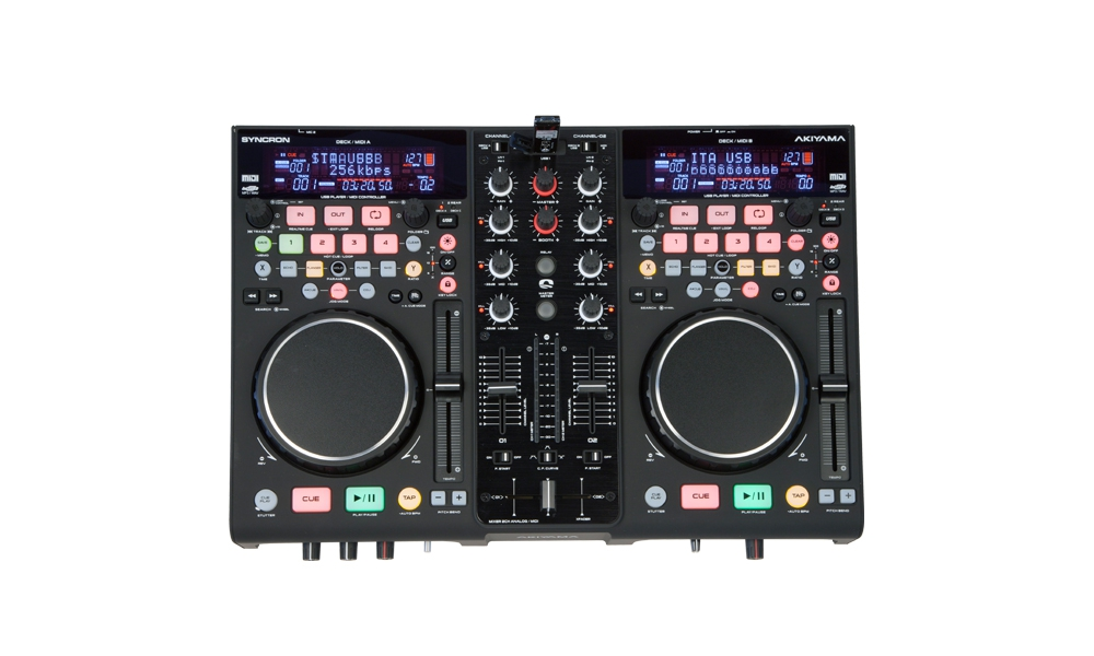 DJ-контроллеры AKIYAMA Syncron