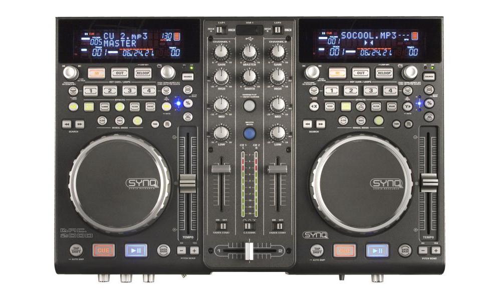 DJ-контроллеры SYNQ DMC-2000