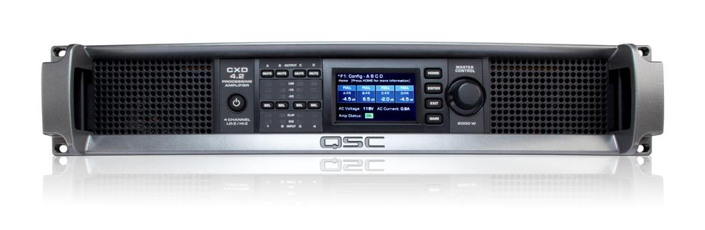 Усилители мощности QSC CXD4.2