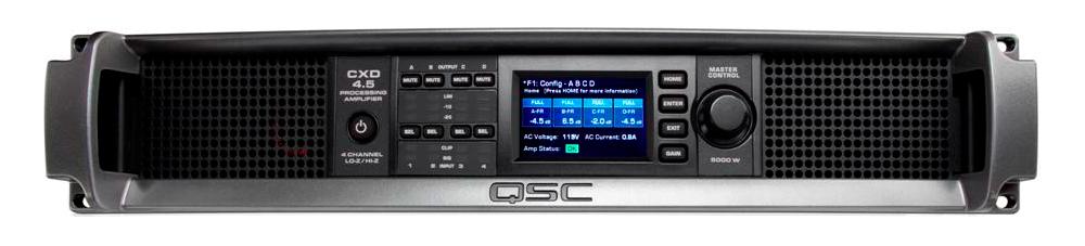Усилители мощности QSC CXD4.5