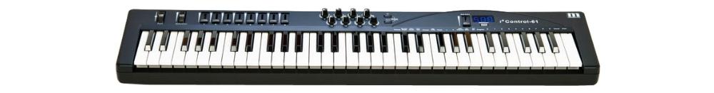 Midi-клавиатуры Miditech i2 Control-61 black