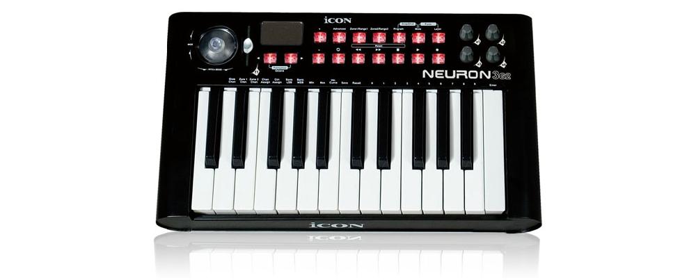 Midi-клавиатуры Icon Neuron-3G2