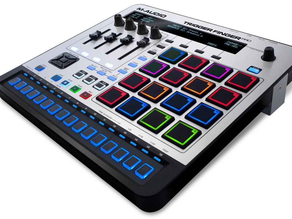 DJ-контроллеры M-Audio Trigger Finger Pro