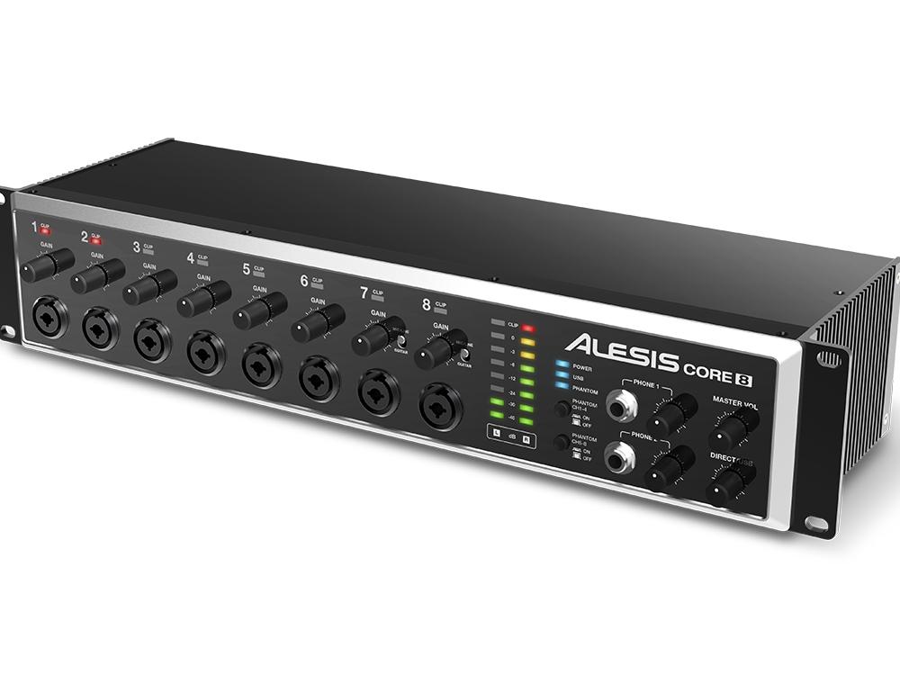 Звуковые карты Alesis CORE 8
