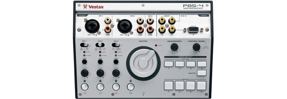 DJ-контроллеры Vestax PBS-4