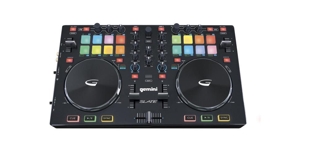 DJ-контроллеры Gemini Slate: 2-Chanel Slim