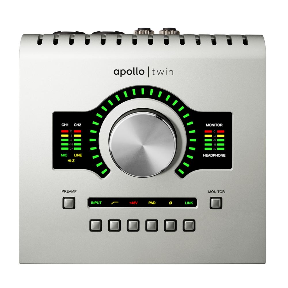 Звуковые карты Universal Audio Apollo Twin USB Duo