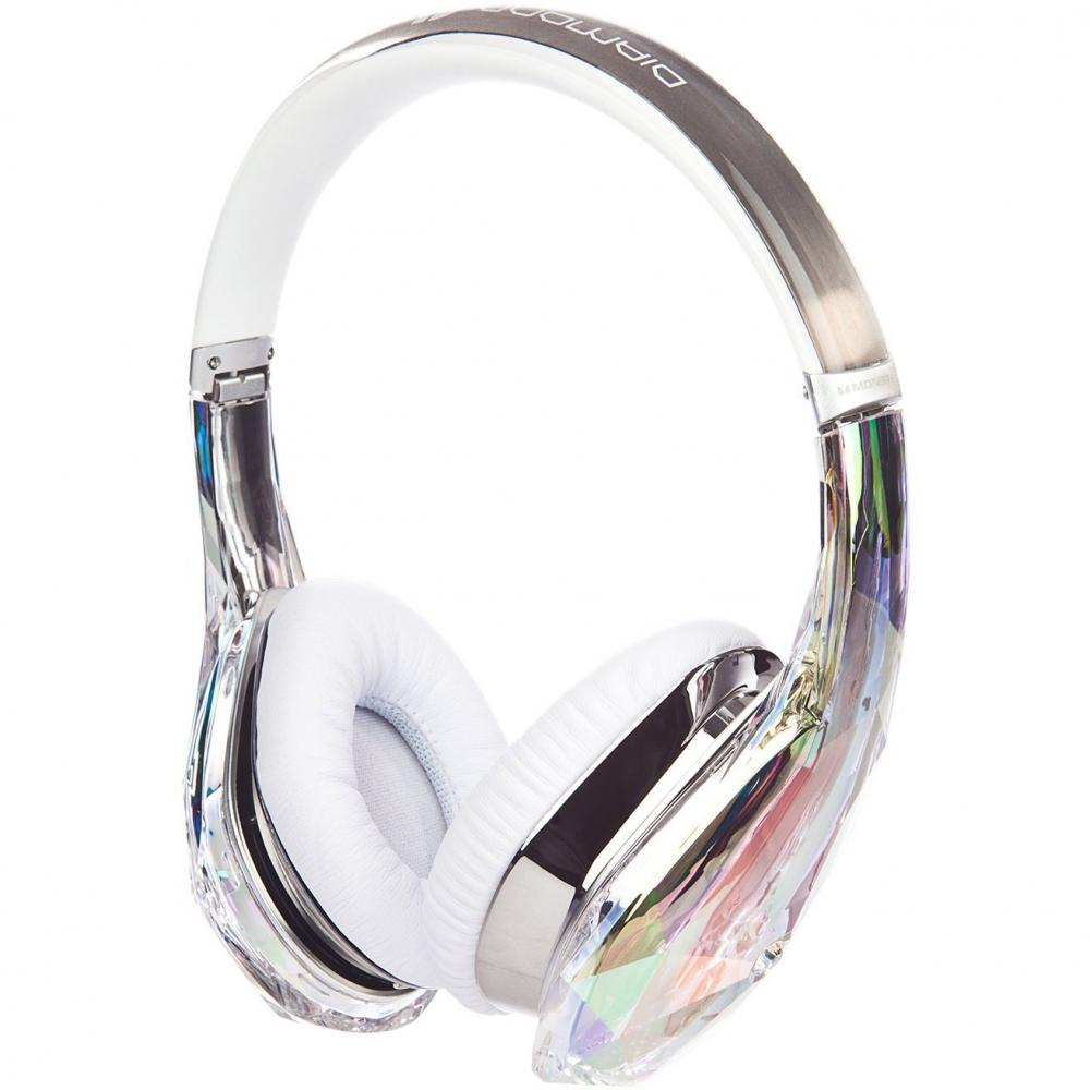 Наушники для аудиофилов Monster Diamond Tears Edge On-Ear Crystal