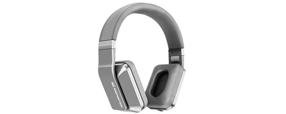 Наушники для плеера Monster Inspiration Active Noise Canceling Over-Ear Silver