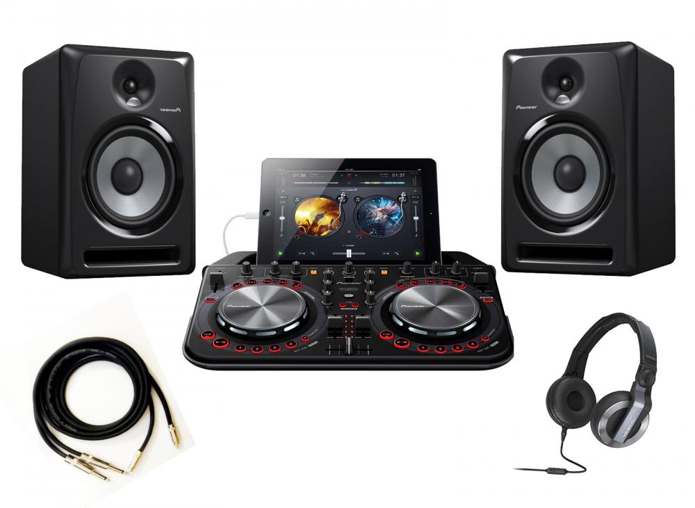 DJ-комплекты Pioneer DDJ-WeGO2+Pioneer S-DJ50X(пара)+Pioneer HDJ-500 + PRODJ CABLE в подарок