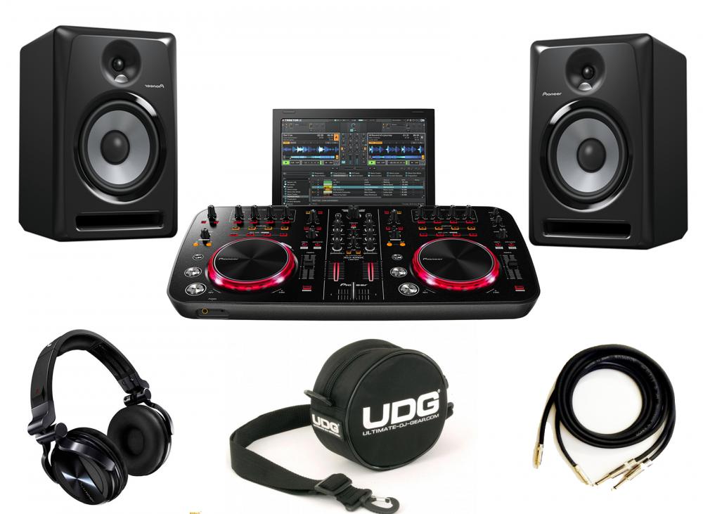 DJ-комплекты Pioneer DDJ-ERGO K LIMITED+Pioneer S-DJ60X(пара)+Pioneer HDJ-1500K+UDG Headphone Bag+PRODJ CABLE в подарок