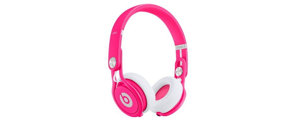 DJ-наушники Beats by Dr. Dre Mixr Neon Pink