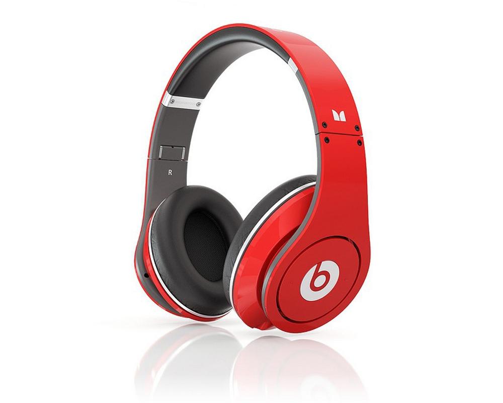 Наушники для плеера Beats by Dr. Dre Studio Red