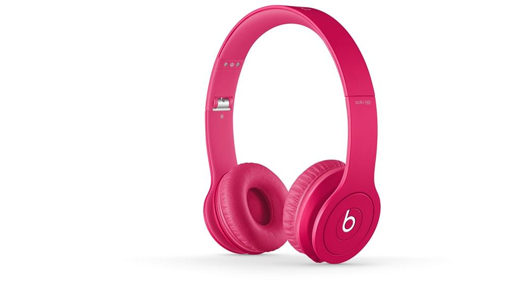 Наушники для плеера Beats by Dr. Dre Solo HD Monochromatic On Ear Headphone Magenta
