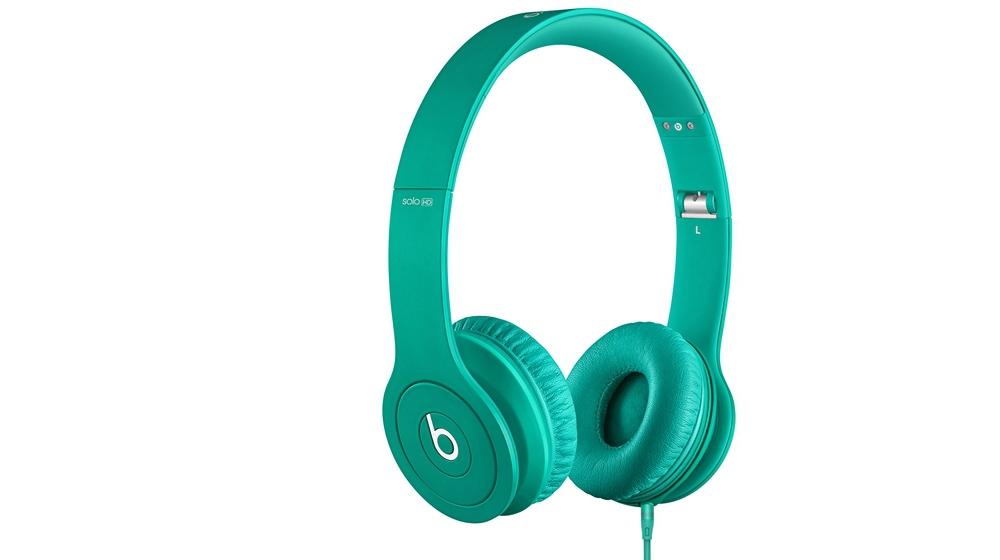 Наушники для плеера Beats by Dr. Dre Solo HD Monochromatic On Ear Headphone Mint