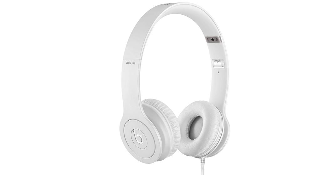 Наушники для плеера Beats by Dr. Dre Solo HD Monochromatic On Ear Headphone White