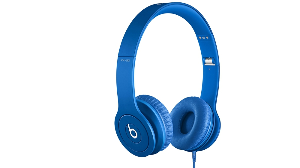 Наушники для плеера Beats by Dr. Dre Solo HD Monochromatic On Ear Headphone Blue