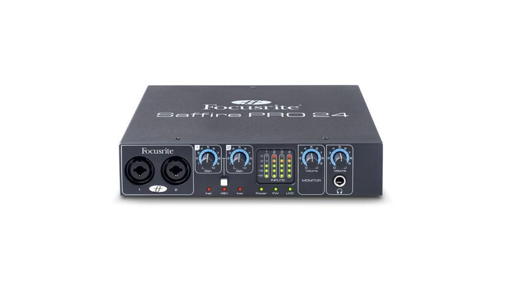 Звуковые карты Focusrite Saffire PRO 24