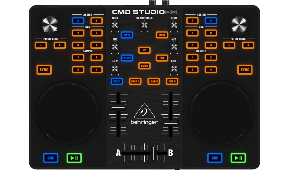 DJ-контроллеры Behringer CMD STUDIO 2A