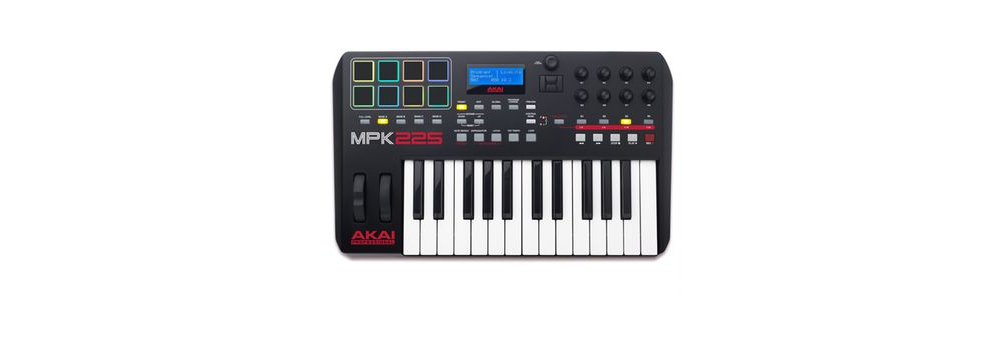 Midi-клавиатуры Akai MPK225