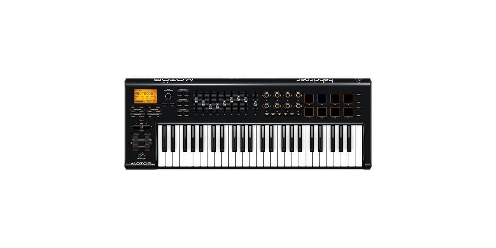 Midi-клавиатуры Behringer MOTOR 49