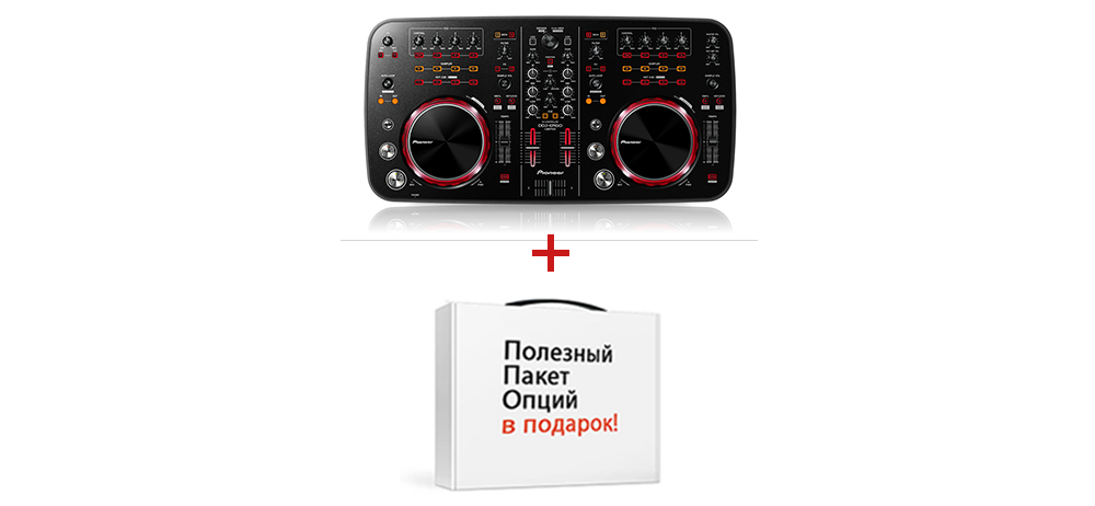DJ-контроллеры Pioneer DDJ-ERGO K LIMITED