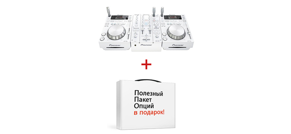 DJ-комплекты Pioneer 350PACK-W