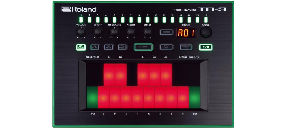 Синтезаторы и рабочие станции Roland AIRA TB-3
