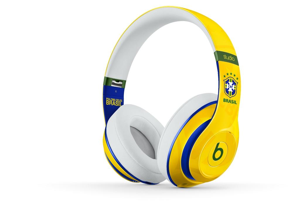 Наушники для плеера Beats by Dr. Dre Studio Brasil CBF