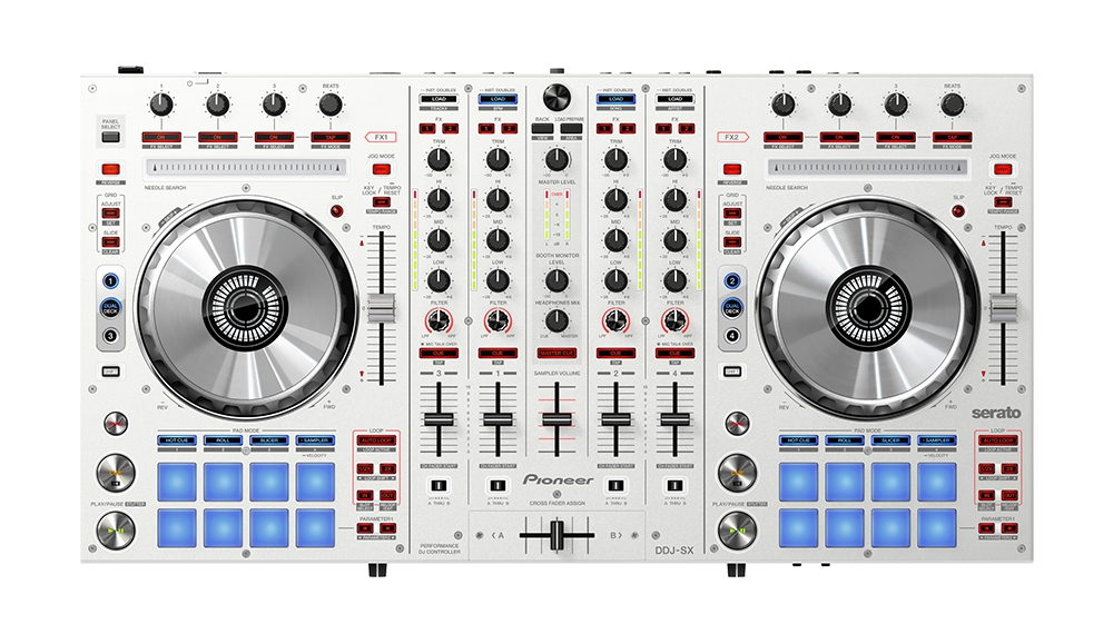 DJ-контроллеры Pioneer DDJ-SX White