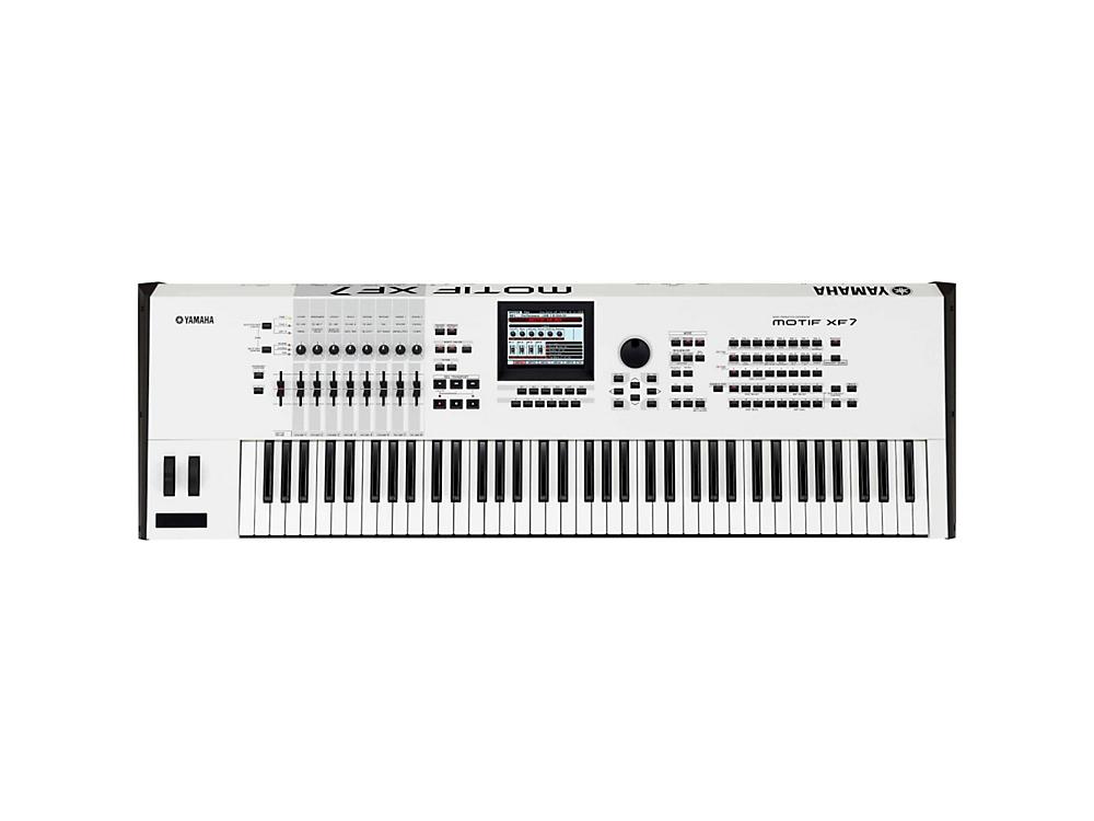 Синтезаторы и рабочие станции Yamaha Motif XF7 White