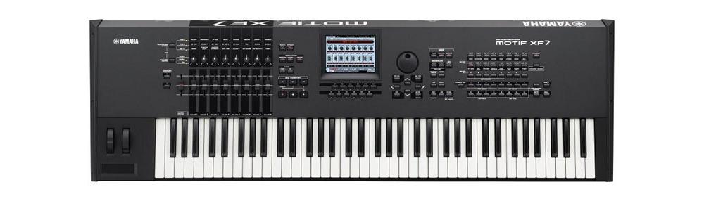 Синтезаторы и рабочие станции Yamaha Motif XF7 Black