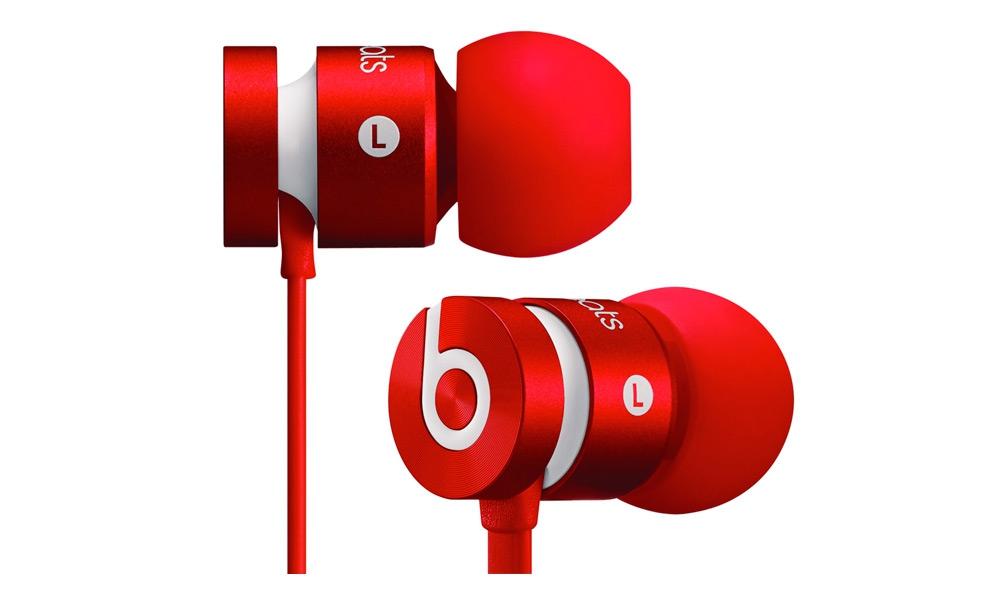 Наушники для плеера Beats by Dr. Dre UrBeats Red