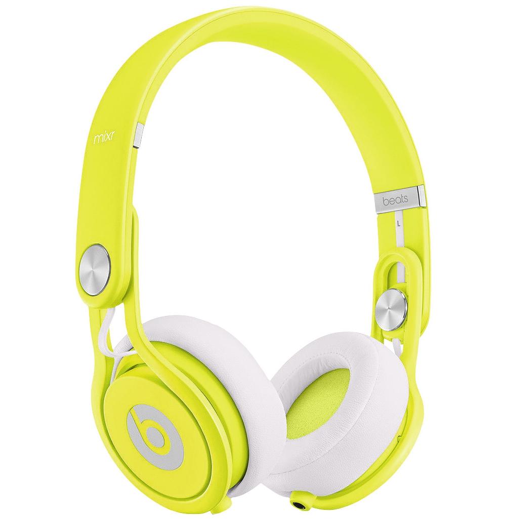 DJ-наушники Beats by Dr. Dre Mixr Neon Yellow