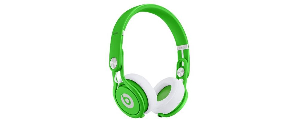 DJ-наушники Beats by Dr. Dre Mixr Neon Green